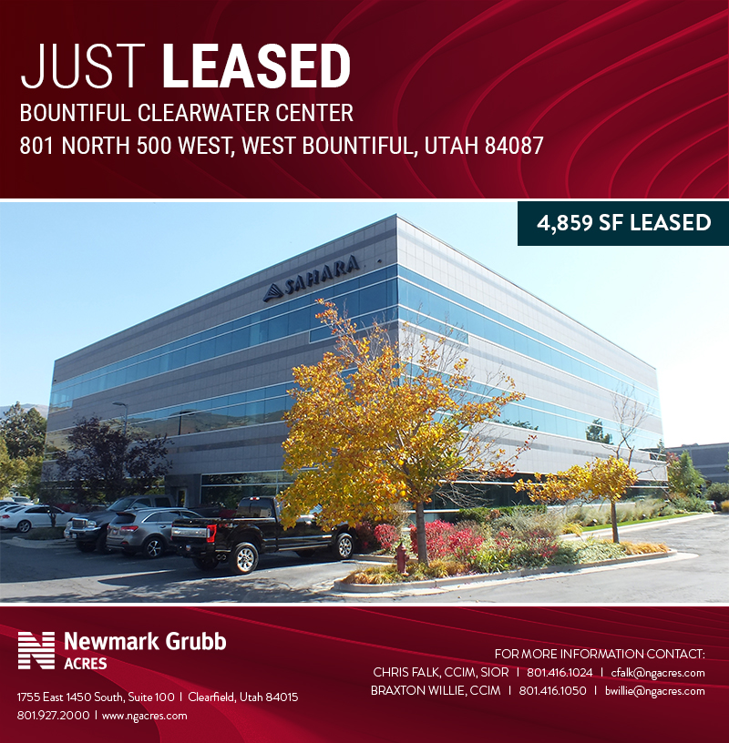just leased: bountiful clearwater center