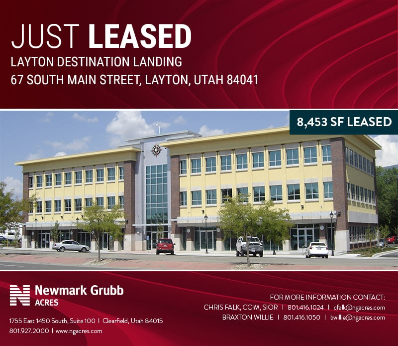 just leased: layton destination landing