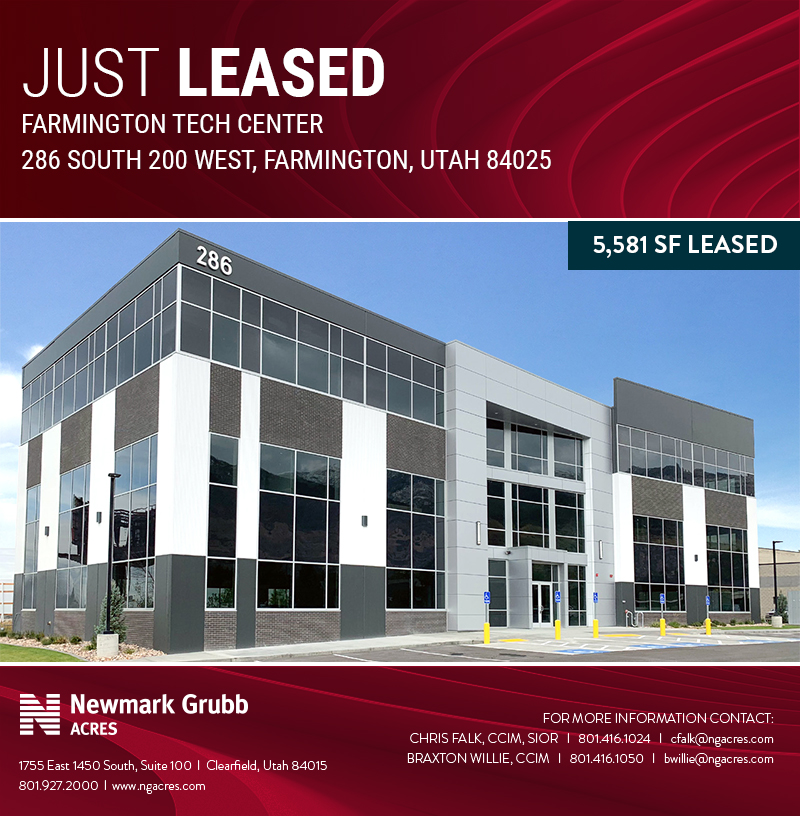 just leased: farmington tech center