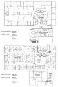 office condo floor plan